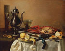 Still Life with Lobster and Crab 1643 - Pieter Claesz