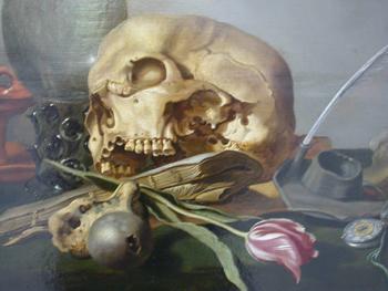 Vanitas 1630 - Pieter Claesz reproduction oil painting