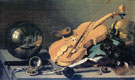 Vanitas Stilleben Mit Glaskugel 1625 - Pieter Claesz