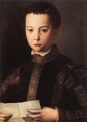 Francesco I de Medici 1551 - Agnolo Bronzino reproduction oil painting