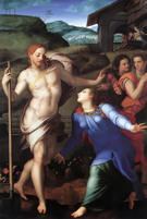 Noli Me Tangere 1561 - Agnolo Bronzino reproduction oil painting