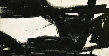 Harleman 1960 - Franz Kline reproduction oil painting