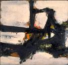Orange Outline 1955 - Franz Kline reproduction oil painting