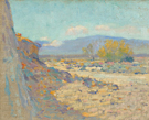 Arroyo Seco from Our Terrace 1921 - Alson Skinner Clark reproduction oil painting
