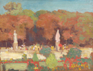 Fall in Luxembourg Paris - Alson Skinner Clark