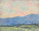 Hills Near Arroyo 1923 - Alson Skinner Clark