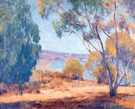 La Jolla Shores - Alson Skinner Clark reproduction oil painting
