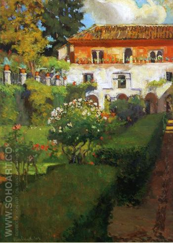 Summer Grenada 1909 - Alson Skinner Clark reproduction oil painting