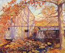 The Old Mill Old Lyme - Alson Skinner Clark reproduction oil painting