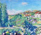 The Town of Chi Chi France 1914 - Alson Skinner Clark reproduction oil painting