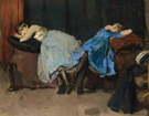 After The Dance - Isaac Israels reproduction oil painting