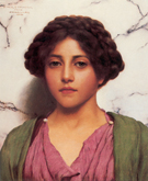 A Classical Beauty A - John William Godward