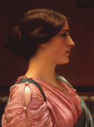 A Classical Beauty B - John William Godward reproduction oil painting