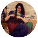 A Congenial Task 1915 - John William Godward