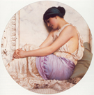 A Grecian Girl 1908 - John William Godward