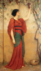 Autumn 1900 - John William Godward