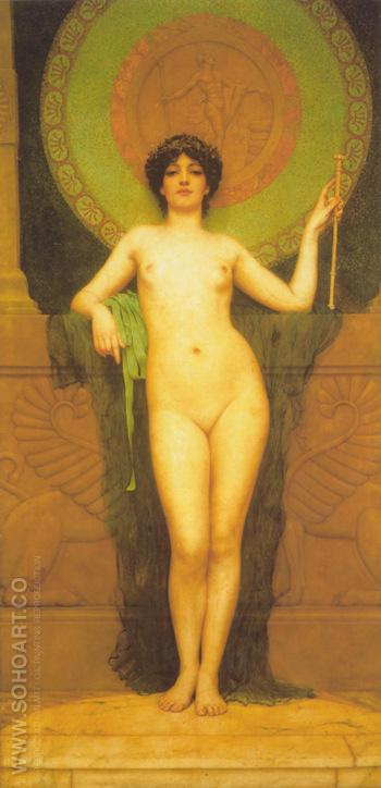 Campaspe 1896 - John William Godward reproduction oil painting