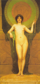 Campaspe 1896 - John William Godward