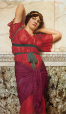 Contemplation 1922 - John William Godward