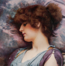 Far Away Thoughts 1892 - John William Godward