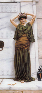 Ianthe 1889 - John William Godward reproduction oil painting