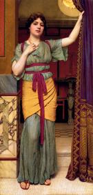 Pompeian Lady - John William Godward