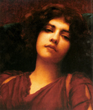 Reverie Study - John William Godward
