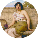 Seller Violets - John William Godward
