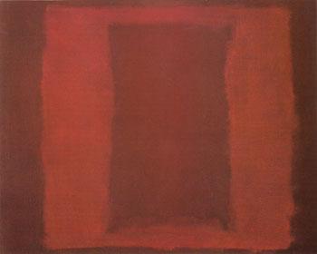 Mural Sketch Seagram Mural Sketch 1959 - Mark Rothko reproduction oil painting