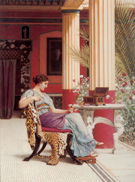 The Jewel Casket 1900 - John William Godward
