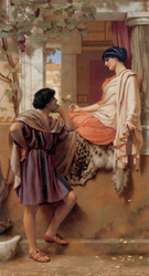 The Old Old Story 1903 - John William Godward