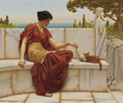 The Tease 1901 - John William Godward