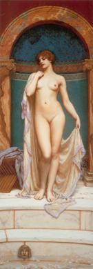 Venus at the Bath 1901 - John William Godward