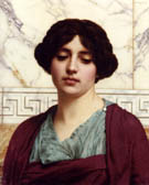 Stesicrate 1914 - John William Godward reproduction oil painting