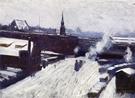 The Station c1886 - Dennis Miller Bunker