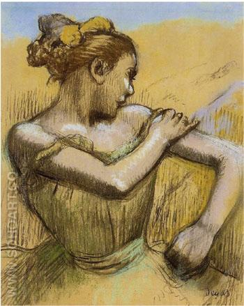 Torso of a Dancer c 1899 - Edgar Degas reproduction oil painting