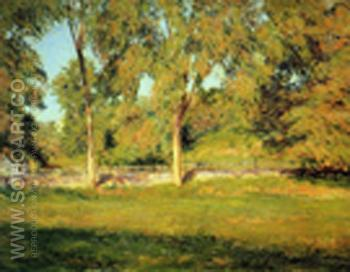 September Afternoon - Joseph de Camp reproduction oil painting