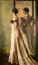 The Heliotrope Gown - Joseph de Camp
