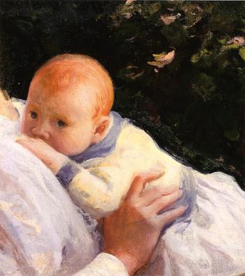 Theodore Lambert De Camp as an Infant 1904 - Joseph de Camp reproduction oil painting