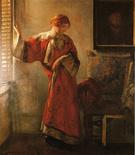 The Window Blind - Joseph de Camp