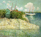 Nassau Bahamas - Julian Alden Weir reproduction oil painting