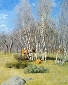 The Birches 1903 - Julian Alden Weir