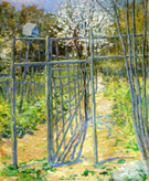 The Grey Trellis 1891 - Julian Alden Weir