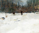 The Ice Cutters - Julian Alden Weir