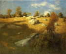 Upland Pasture - Julian Alden Weir reproduction oil painting