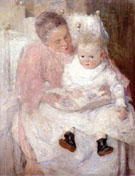 Mother and Child - Julian Alden Weir