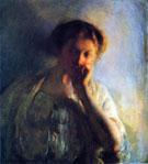 La Penserosa c1904 - Joseph de Camp