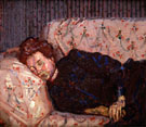 Lady on a Sofa 1910 - Harold Gilman
