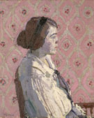 Portrait in Profile - Harold Gilman