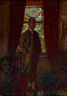 Self Portrait c1908 - Harold Gilman